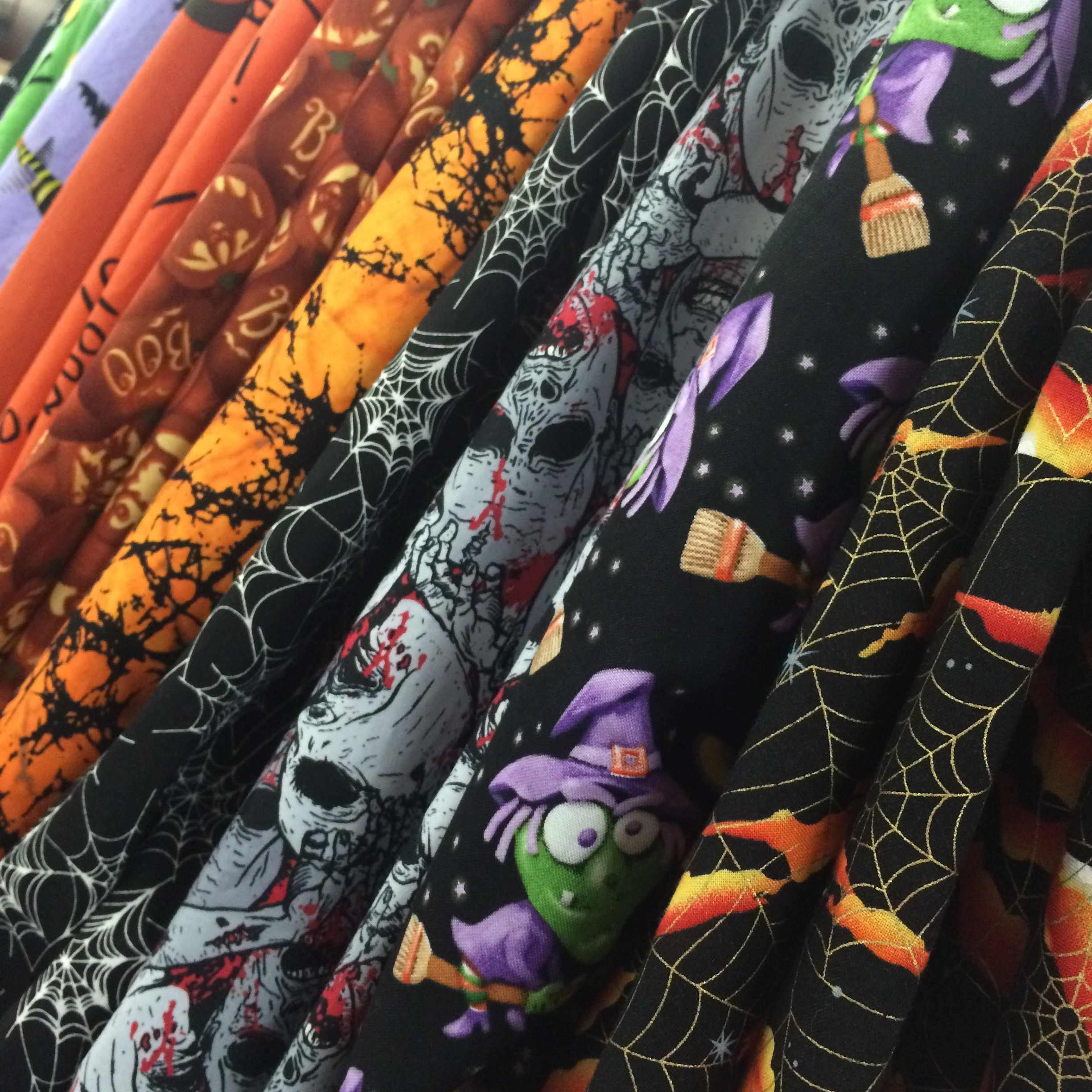 halloween fabrics | fabric outlet sf