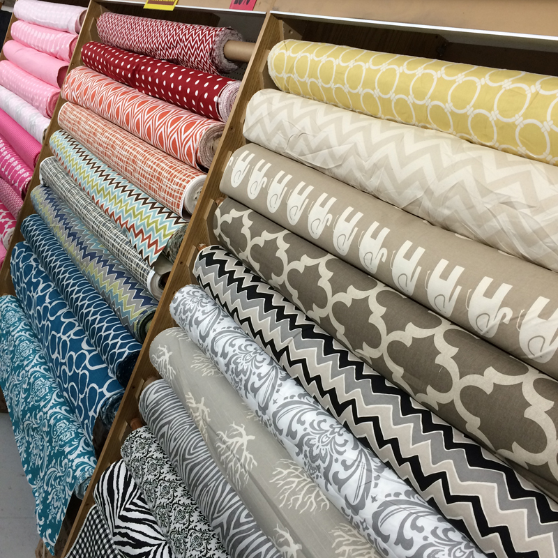 tons of fun new upholstery prints fabric outlet sf