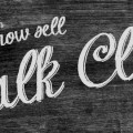 We Now Sell Chalk Cloth!