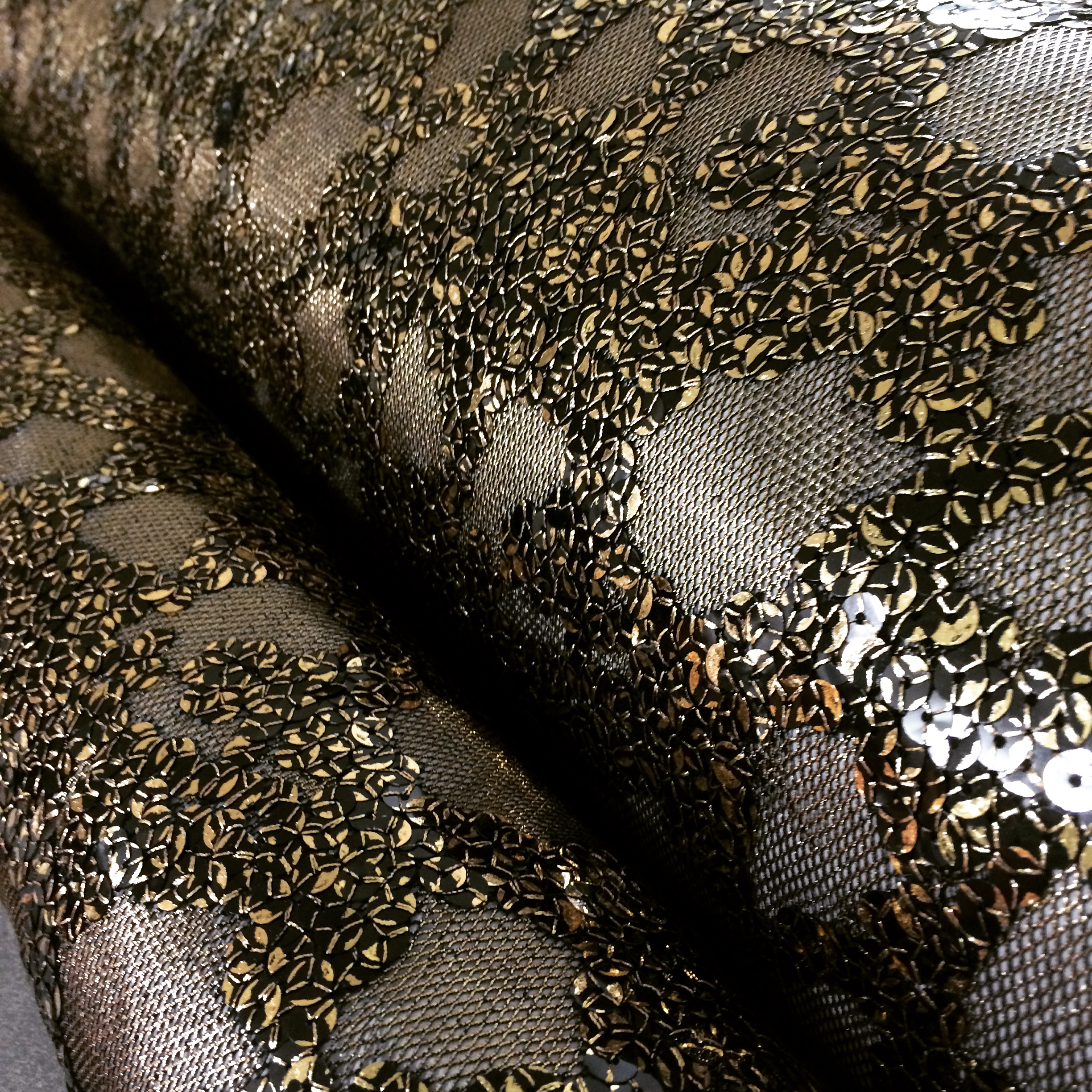 Amazing new burnout look sequin fabrics fabric outlet sf for Sequin fabric