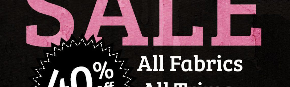 40% Off MONSTER SALE!