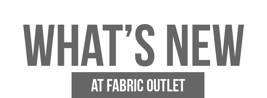 Fabric Outlet SF | Family Owned and Operated in SF Since 1995